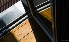 Inside - outside (frankdorgathen) Tags: alpha6000 sony sony35mm ruhrpott ruhrgebiet essen mundane banal schatten shadow minimalism minimalistic balcony balkon parquet parkett wood boden floor outdoor indoor