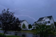 Last Lightning Of The Summer? (It's my whole damn raison d'etre) Tags: lightning storm thunder clouds bolt weather hamilton virginia nikon alex erkiletian