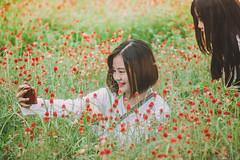 IMG_4579 (Haru2212) Tags: girl ngoàitrời người lightroom nature natural naturalbeauty canon sunday canon450d smile magic vietnamese vietnam portrait
