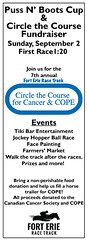 Circle the Course (rumimume) Tags: potd rumimume 2018 niagara ontario canada ad promotion graphic graphicdesign horse racing forterie racetrack