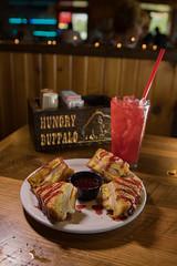 hocking-6472 (FarFlungTravels) Tags: food burrito drink eat hockinghills hungrybuffalo laurawatiloblake logan montechristo ohio tourism yuppieburger 2018