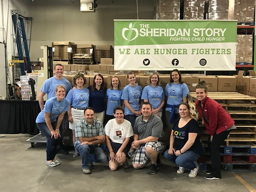 Food Drive Sorting Event 9/13/18