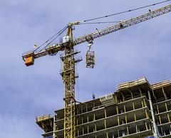 9 stories to go (Tony Tomlin) Tags: whiterockbc britishcolumbia canada southsurrey construction crane