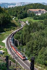 sem_180829_19 (Prefektionist) Tags: 1142 1144 50mmf14d austria bahn d700 eisenbahn kartnerkogelviadukt loweraustria niederösterreich nikon oebb rail railroad railway semmering semmeringbahn train trains wolfsbergkogel öbb österreich semmeringkurort at