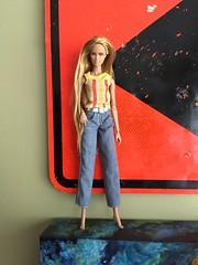 Skip (branbeckman) Tags: ooakskipper teenskipper repaint rebody barbie barbierepaint skipper ooakbarbie
