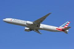 B777 N718AN London Heathrow 13.09.18 (jonf45 - 4 million views -Thank you) Tags: london heathrow airport egll lhr airliner aircraft jet plane flight aviation american airlines boeing 777323er n718an b777 777