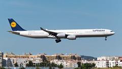 Airbus A340-642 I D-AIHE I Lufthansa (Gustavo H. Braga) Tags: lufthansa aviation airplanes airport aviação aviacao aviao aeronaves aeroporto airbus a340 a346 avgeek photo