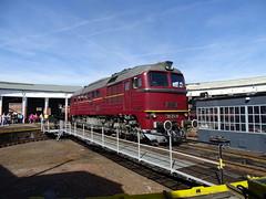 Die Taigatrommel präsentiert sich (Thomas230660) Tags: dampflok steamtrain arnstadt sony museum dampf lokomotiven