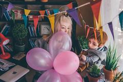 laura's bday (mimiau_m) Tags: bjd asian doll balloons party zaoll luv recast