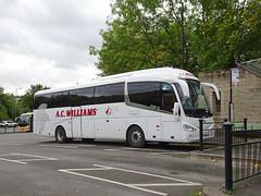 AC Williams YN14EDJ Matlock (Guy Arab UF) Tags: ac williams ancaster yn14edj scania k360eb4 irizar i6 coach matlock railway station rail replacement bus service derbyshire buses