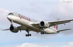 F-WZNJ Airbus A350 msn 207 Qatar (@Eurospot) Tags: a7amg fwznj airbus a350 a350900 qatar toulouse blagnac