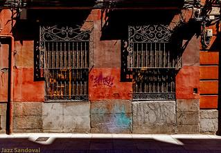 Geometría urbana. 08. Madrid, julio 2018.