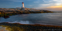 Peggy's Cove Lighthouse (Explore) (Maryse Hébert) Tags: