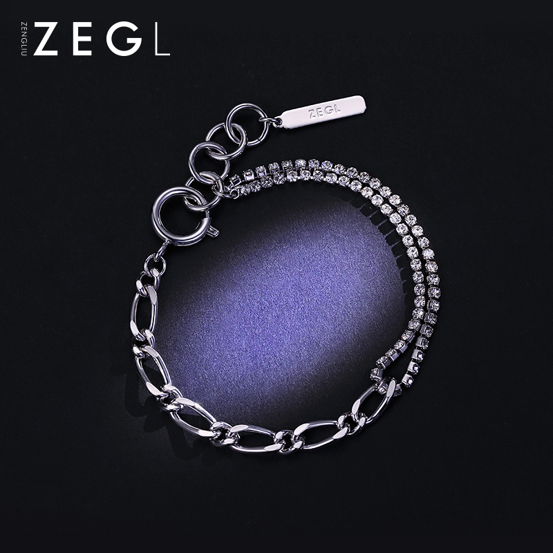 ZEGL cool air net red Bracelet temperament chic hand decoration Korean version simple personality fashion jewelry female fashion accessories