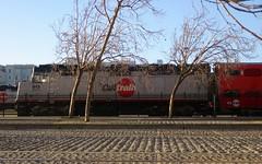 crude transport (Riex) Tags: locomotive caltrain railway station gare sanfrancisco california californie g9x