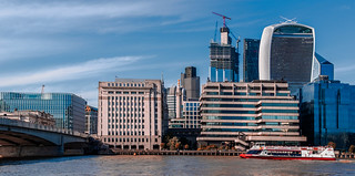 London View - The City of London Skyline (Film Effect) (Fujifilm X100F Compact) (1 of 1)