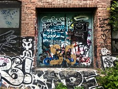 Paint On Paint (Professor Bop) Tags: professorbop drjazz graffiti brattleborovermont building structure appleiphonese