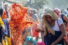 Mauri Threads During Holi Pilgrimmage, Vrindavan India (AdamCohn) Tags: adamcohn hindu india vrindavan charandu holi kalava mauli moui pilgrim pilgrimage कलावा मौली होली