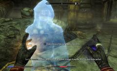 Advice from Lucien (Rain Love AMR) Tags: lucienlachance darkbrotherhood skyrim assassin spectral ghost conjured summon summoned raldbthar
