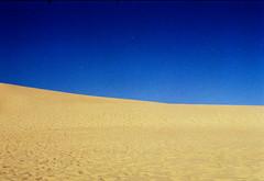 461 - Sand Dunes on Fraser Island (kosmekosme) Tags: fraserisland frasercoast fraser australia island sand sky blue clear bluesky horizon queensland lake desert deserted kgari gari coast lakewabby wabby nature d7000