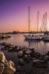 Marzamemi (ilsiciliano_) Tags: marzamemi sunset canon sea city siracusa noto sicilia italia landscape paesaggio panorama barca