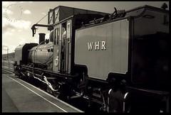 NG138 (zweiblumen) Tags: ng138 1958 beyerpeacockco garratt locomotive steam welshhighlandrailway rheilffordderyri rhydddu gwynedd wales cymru uk monochrome canoneos50d polariser zweiblumen 262262 southafricanrailways suidafrikaansespoorweë