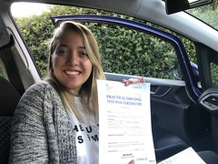 Massive congratulations  to Giovanna Machado passing her driving test in only one attempt with Leo's driving school!  Only 3 minor faults, well done Giovanna!  www.leosdrivingschool.com