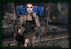 ♥ Money ... ♥ (ladychrissseyyal) Tags: ♥ money posedecormovement all need is inc 05 pose decor movement makeupzibska photine eyemakeup zibska the makeover room skin makeupegozy sugar porcelain lips collection egozy tattooendless pain tattoos medusa endless we 3 roleplay outfit promagic monalisabag1 bodychain top skirt warmers
