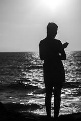 DSC_1680 (Dan_lazar) Tags: charlesclore telaviv israel beach shofar roshhashana jews sea sunset prayer bw bnw blackandwhite orthodox