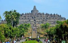 Borobudur, Java, Indonesia (5) (josepsalabarbany) Tags: borobudur temple java indonesia budism budist stupa tourists buddha architecture buda serenity buddhism