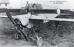 Fokker in the seat of the M.5 long wing version [Germany, 1914] (Kees Kort Collection) Tags: 1914 fokker germany m5 m5l monoplane
