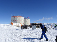 Concordia station (europeanspaceagency) Tags: esa europeanspaceagency space universe cosmos spacescience science spacetechnology tech technology humanspaceflight concordia antarctica base research researchstation