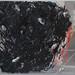 Il muro si disegna nell'aria; 1988, dono 2016. Acrilico e resina su lastra di policarbonato, cm 210x200<br /> Maglione interno ex scuola