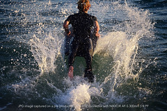 Z7: Big Splash (PVA_1964) Tags: nikon z7 mirrorless fullframe nikonmirrorless zmount california mirrorlessdoneright ftzconnector adapter nikkor forbestresultsusenikkor availablelight 300mmpf 300mmƒ4pf surf water waves boogieboard beach thewedge newportbeach guys dudes pacific ocean pacificocean