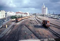 3707 Y1106  light engine Fremantle 27 May 1983 (RailWA) Tags: railwa philmelling westrail 1983 y1106 fremantle