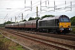 67006 5Z90 Bo'ness Junction Exchange Sidings to Bescot. (Powerhaul70Pey) Tags: 67 67006 freight train locomotive railway rail railroad