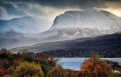 The Ben (calderdalefoto) Tags: fortwilliam highland scotland highlands bennevis autumn snow mountain mountains landscape loch eil