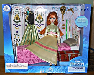 New Frozen Anna Playset