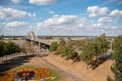 River Waal at Nijmegen (christina.marsh25) Tags: waal nijmegen holland netherlands bridge