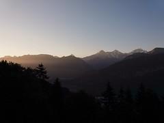 First light on Eiger, Mönch and Jungfrau (arjenvanveldhuisen) Tags: samsunggalaxy beatenberg earlymorning sunrise berneroberland bergen eiger jungfrau zwitserland switserland mountains nature