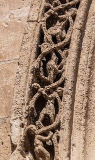 Stonework (Rear Valencia Cathedral) (Panasonic TZ200 Travel Compact Travel Zoom)