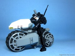 Black Ice Team Six Ver 2.0 (icycruel) Tags: black ice team six lego moc bike hardsuit sci fi military akira shot