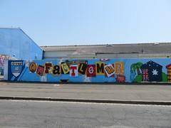 Les Oides - On fait le mur (emilyD98) Tags: street art saint nazaire insolite mur wall graff graffiti tag urban exploration explore rue les oides escales festival fresque