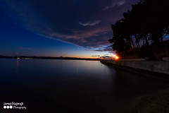 Adriatic (Nstajn) Tags: sonya7ii sony zeiss 1635 colours sea adriatic night clouds croatia beach blue sun sunset