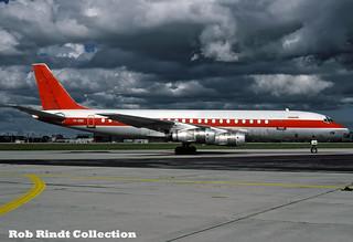 VIASA DC-8-54CF YV-128C