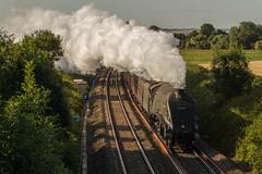 Cotswold Venture (mattjspencer) Tags: train railway steam locomotive lner londonnortheasternrailway a4 gresley railwaytouringcompany rytc wcrc westcoastrailwaycompany