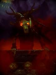 ''Baby Yaga'' (HodgeDogs) Tags: tombraider portrait demon yaga squareenix gaming games pc crystaldynamics