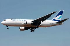 Gabon Airlines | Boeing 767-200 | TR-LHP | Johannesburg International (Dennis HKG) Tags: gabon gabonairlines gbk gy aircraft airplane airport plane planespotting johannesburg faor jnb ortambo fajs southafrica boeing 767 767200 boeing767 boeing767200 trlhp