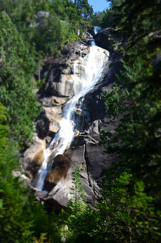 Shannon Falls in miniature