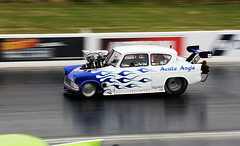 Anglia_2374 (Fast an' Bulbous) Tags: drag race strip track car vehicle automobile santapod fast speed power acceleration motorsport hotrod outdoor nikon d7100 gimp